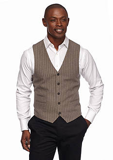MADE Cam Newton Pinstripe Vest