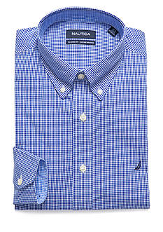 Nautica Classic Fit Gingham Dress Shirt