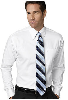 Nautica Ocean Wash Pinpoint Oxford Button Down Dress Shirt