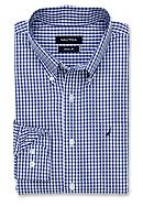 Nautica Gingham Ocean Wash Dress Shirt