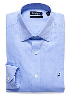 Nautica Classic Fit Cotton Twill Dress Shirt
