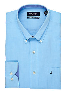 Nautica Classic Fit Ocean Washed Dress Shirt