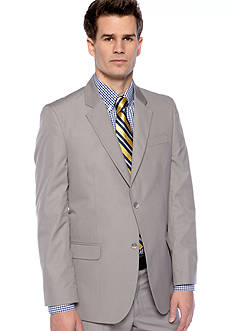 Greg Norman® Classic Fit Gray Suit Separate Coat