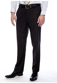 Greg Norman Collection Black Flat Front Suit Separate Pants