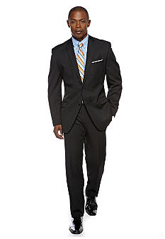 Greg Norman Classic Solid Charcoal Suit