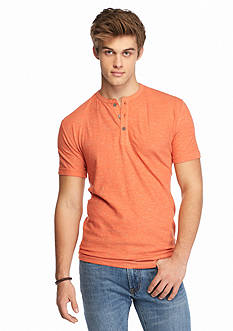 Chip & Pepper CALIFORNIA Short Sleeve Infused Henley Shirt