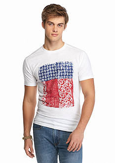 Chip & Pepper CALIFORNIA Short Sleeve Americana Bandana Graphic Tee