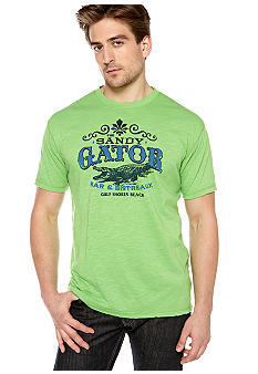 Ocean & Coast Sandy Gator Screen Tee