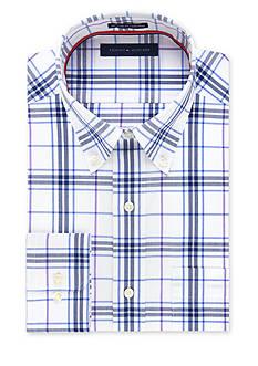 Tommy Hilfiger Big & Tall Non-Iron Regular Fit Dress Shirt