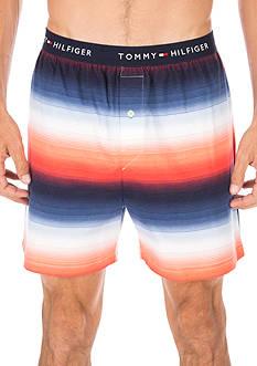 Tommy Hilfiger Chevron Print Knit Boxers