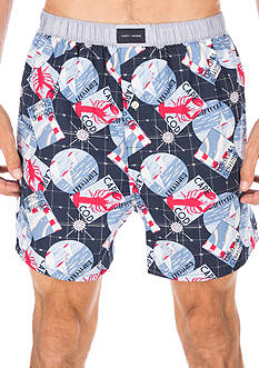 Tommy Hilfiger Beach Print Woven Boxers
