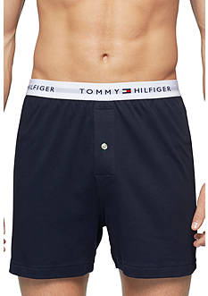 Tommy Hilfiger Solid Woven Boxer
