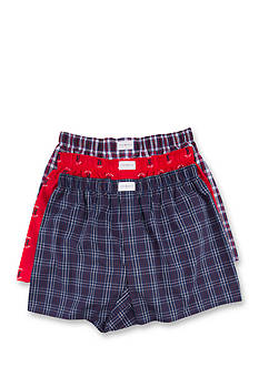 Tommy Hilfiger Woven Boxers - 3 Pack