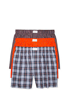 Tommy Hilfiger Flag Print Woven Boxers - 3 Pack