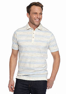 Ocean & Coast Rainforest Stripe Polo Shirt
