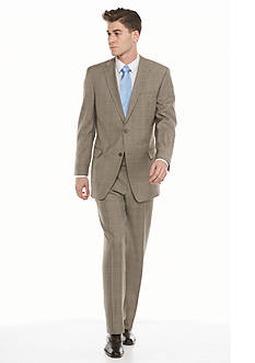Tommy Hilfiger Classic-Fit Plaid 2-Piece Suit