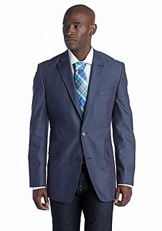 Tommy Hilfiger Contemporary Denim Blue Sport Coat