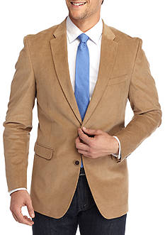 Tommy Hilfiger Classic-Fit Stretch Cord Sport Coat With Elbow Patches