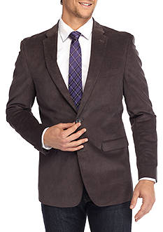 Tommy Hilfiger Classic-Fit Stretch Cord Sport Coat With Elbow Patch