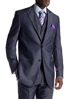Steve Harvey Blue Suit Separate Coat