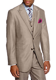 Steve Harvey Classic Fit Solid Suit Separate Coat
