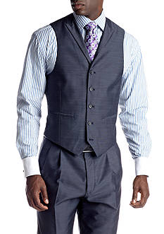 Steve Harvey Blue Suit Separate Vest