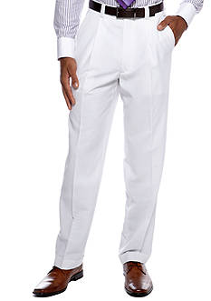 Steve Harvey Classic Fit Solid Linen Suit Separate Pants