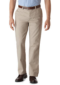 Chaps Straight Fit True American Chino Flat Front Pants