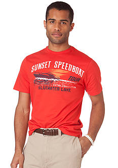 Chaps Sunset Speed Jersey Tee