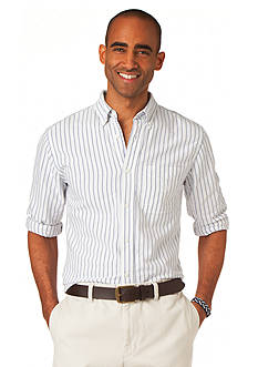Chaps Bar Stripe Oxford Shirt