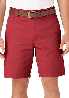 Chaps Basic Flat Front Short