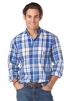 Chaps Cedar Rapids Plaid Button Down Shirt