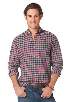 Chaps Heritage Plaid Button Down Shirt