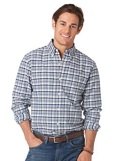 Chaps Eerie Check Button Down