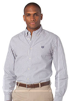 Chaps Custom Fit Mercer Stripe Shirt
