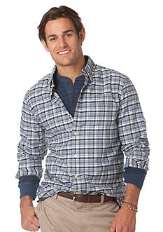 Chaps Harrison Plaid Button Down Shirt