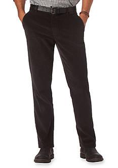 Chaps Corduroy Flat Front Pant