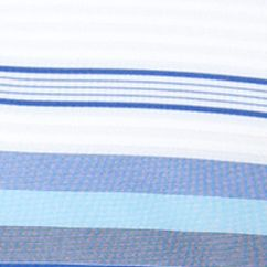 Mens Short Sleeve Polo Shirts: White Chaps MAR CALDERWOOD TEXTURE STRIPE POLO-DEEPATLANTIC