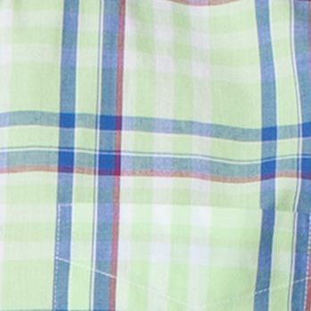St Patricks Day Outfits For Men: Citrus Green Chaps MAY SS STEADMAN PLAID -CLASSICTURQ