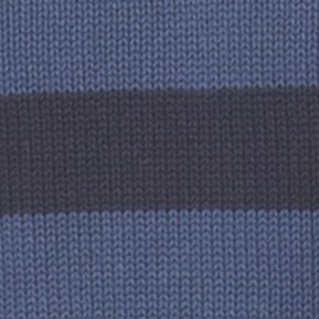Chaps: Pottery Blue Chaps OCT LTO CREWNECK STRIPE 5 GG-POTTERY