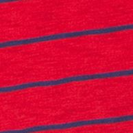 Plain and Striped T-shirts for Men: Red Chaps MAR-PROMO STRIPE SLUB CREW-TRUEORANGE