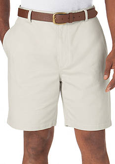 Chaps Straight-Fit Twill Short