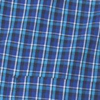 St Patricks Day Outfits For Men: Optic Blue Chaps LS EC SM PLAID-NEWPORT NAVY