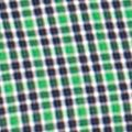 St Patricks Day Outfits For Men: Preppy Green Chaps DEC LS EC SM CHECK-PREPPY GREEN