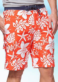 Chaps Floral Swim Shorts