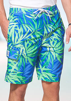 Chaps Floral Board Shorts