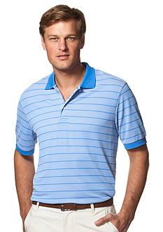 Chaps Striped Pique Polo Shirt