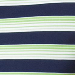 Mens Short Sleeve Polo Shirts: Modern Lime Chaps Striped Pique Polo Shirt