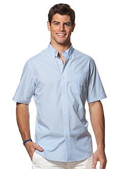 Chaps Short-Sleeve Tattersall Shirt