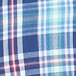 Men: Chaps Casual Shirts: Vineyard Royal Chaps Short-Sleeve Plaid Shirt